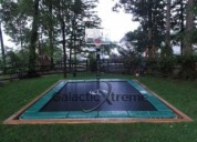 Rectangle trampoline for sale - happy trampoline