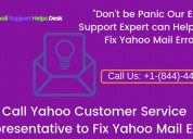 Yahoo customer service representative for assistan