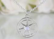 925 moonstone necklaces - spirit keeper