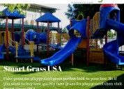 Professional artificial lawn company at california