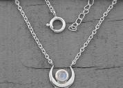 Moonstone necklace - secret paragon