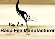 Flat files and rasp manufacturers china