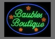 Custom text tool led sign   animated sign