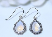 Moonstone earring - whimsical diva