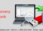 Call on 1855-222-1919 for quick data recovery