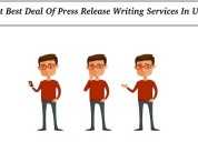 Get best deal of press release writing services