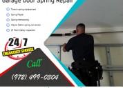 Professional garage door spring repair plano