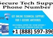 F-secure antivirus technical support phone number