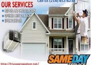 A1 rated - garage door repair in frisco,tx -$25.95