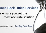 Insurance back-office services to agencies