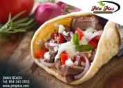 Get healthy food with taste in pita plus