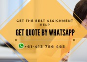 Acquire our assignment help services today
