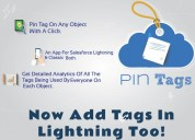 Salesforce cloudanalogy pin tags app