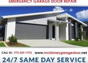Broken garage door repair services ($25.95) mckinn
