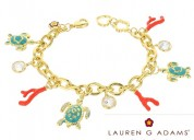 Buy fashionable sea-life charm bracelet