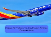 Cheap air-tickets via southwest airlines reservati