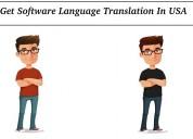 Get software language translation in usa
