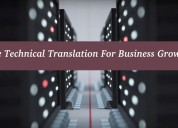 Use technical translation for business growth