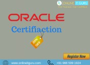 Oracle certification | oracle course