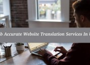 Grab accurate website translation services in usa