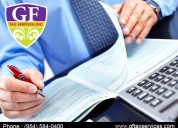 Solve all your tax matters with gf tax services