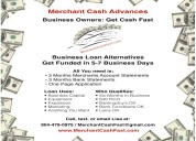 Business loan alternatives