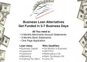 Business loan alternatives usa