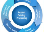 Ecommmerce product catalog management  services