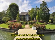 Homes for sale lake martin al