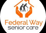 Senior care services in federal way