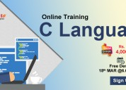Best c-language online training institute in usa-n