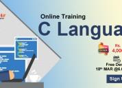 Best c-language online training institute in usa-n