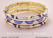 Beautiful looks with stackable fiesta bangle