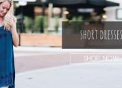 Buy women's short dresses online