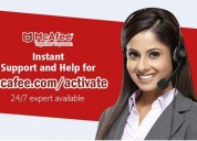 Mcafee activation by a retail card in easy steps