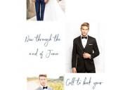 Authentic men's wedding store