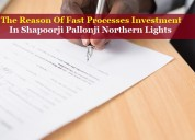 The reason of fast processes investment in shapoor