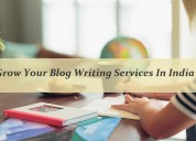 Grow your blog writing services in india