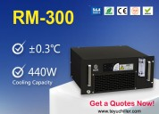 Portable water chiller unit for uv laser marking m