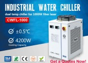 Closed loop water chiller for 1000w fiber laser