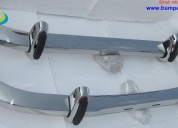 BMW 2800 CS bumper (1968-1975) in stainless steel