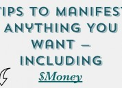 Free manifestation tips