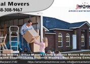 Commercial moving services near annapolis