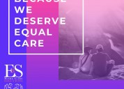 Because we deserve equal care | e & s home care so