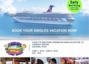 The 2019 vip singles cruise dream getaway