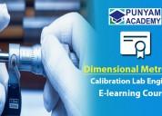Dimensional instruments calibration course online