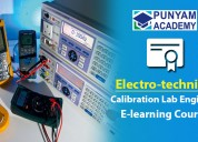 Electro-technical instruments calibration course