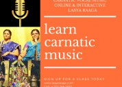 Learn  carnatic vocal music classes in online