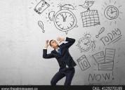 Calendar management services.