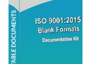 Iso 9001 forms for all the departments